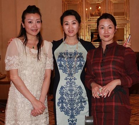 中國影后劉曉慶 凱撒宮賭場做客