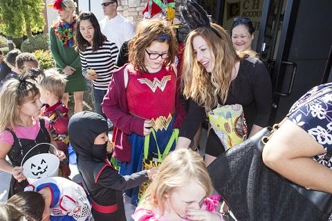 維加斯中文學校萬聖節活動小朋友樂開懷