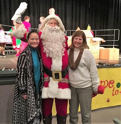 同源会访拉芙琳 和偏乡学生度圣诞
