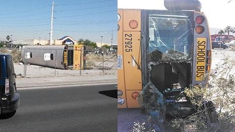 校車與機動車相撞 1死16傷