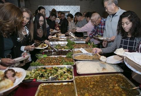 维加斯美食群新春联欢晚会成功举办