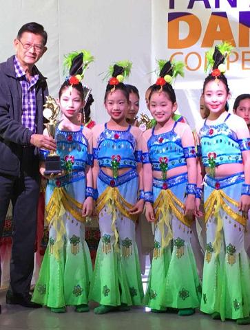 龍翔舞集參加泛亞舞蹈大賽傳捷報