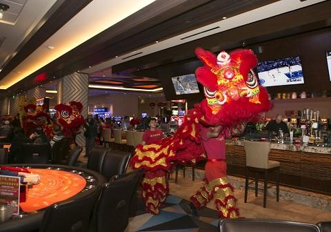 皇宮驛站賭場酒店 舞獅慶新春