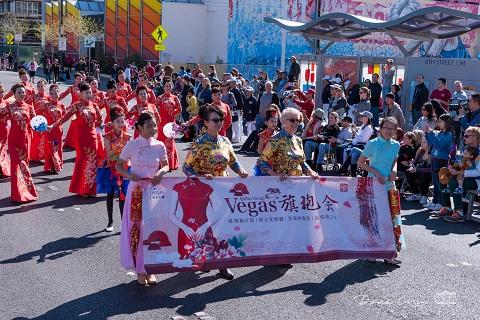 维加斯旗袍会 沙漠春节大游行
