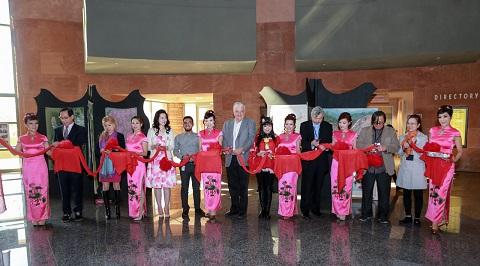 中国当代水墨艺术家作品展揭幕