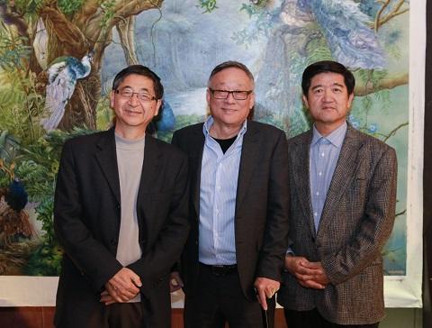 中國當代水墨藝術家作品展揭幕