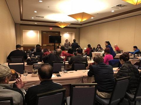 全美台聯40屆二次理事顧問會維加斯舉行