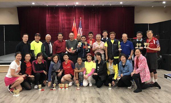 第二屆賭城乒乓球友誼賽成績揭曉