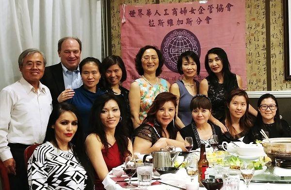 世华工商妇女会庆生交流晚宴 圆满热闹