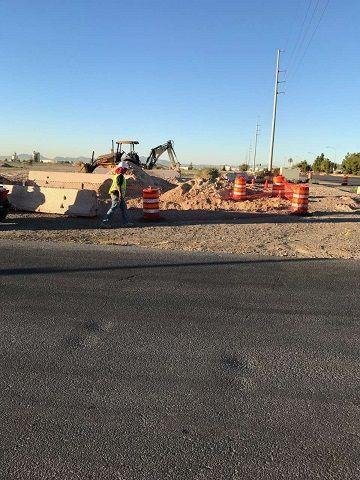 維加斯貿易村基礎工程積極展開