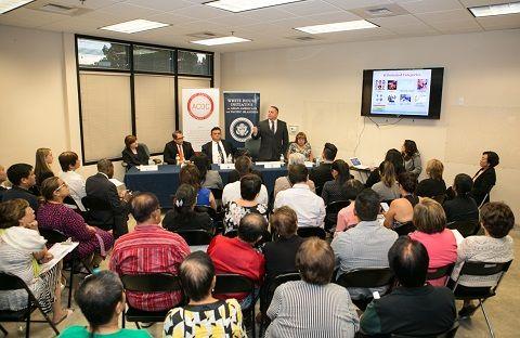 白宮亞太裔事務辦公室舉辦親民會議