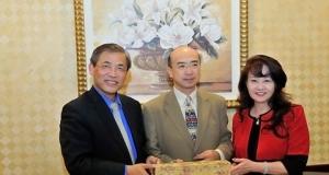 全國台聯副會長紀斌率團訪美
