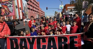 維加斯中文學校參加沙漠春節大遊行