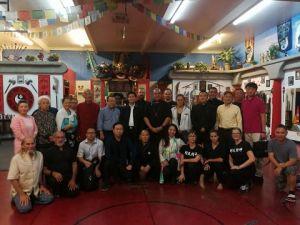 中華太極文化國際總部代表團訪維加斯