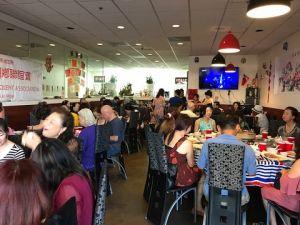 台聯會和兩岸群聯合餐會 圓滿熱鬧