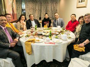 維加斯美食群聖誕晚會節目精彩