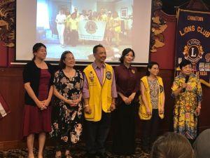 維加斯中國城獅子會 新會長就職典禮圓滿熱鬧
