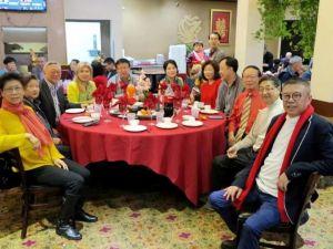 上海同鄉會新年晚會 人氣旺盛氣氛熱烈